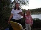 Abborr mete i Orranässjön