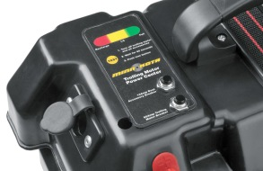 Minn Kota batterilåda med spänningsindikator