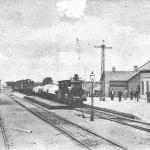 EA 5 Billinge station med lokstalla 1901