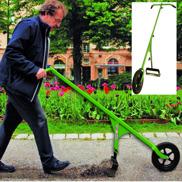 Hjulhackan effektivt ogräs redskap