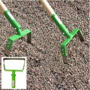 Pendelhacka pendlar både fram och tillbaka för ogräsrensning på grusgångar och i rabatter.