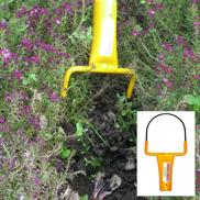 Trådredskap Luckra och rensa ogräs i dina rabatter och odlingar.