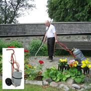 Värmebehandling med T100 med denna brännare värmer du effektivt bort ogräset och du kommer åt överallt.