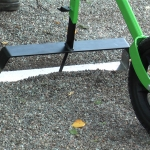 Rensbåge 50cm på hjulhackan