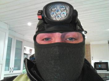 L-G Nyholm i vinterskrud