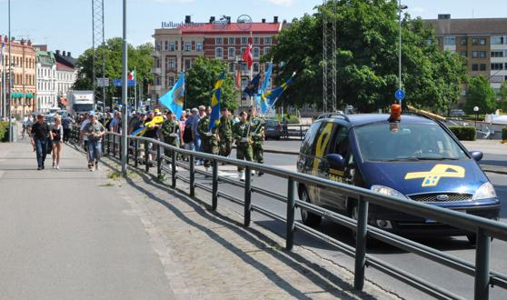 Marschen i Halmstad 2013