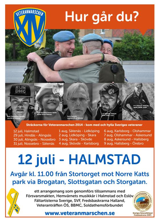 Nu är det dags för Veteranträffen i Halmstad - Vi kör Veteranmarschen i år igen!
