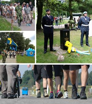 Nu är det dags att anmäla sig till Veteranmarschen 2015