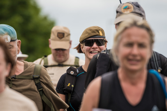 Veteranmarschen 2016 - Foto: Kim Svensson
