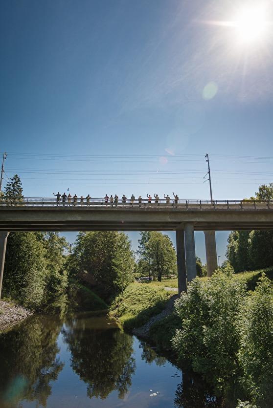 Bron innan Iggesund. Foto:Kim Svensson