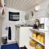 Minikök i båthuset