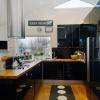 Kök i svart