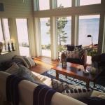 Hitta Hem, vardagsrum i New England-stil