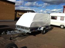 Nordic car trailer