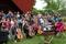 Unga Glysar avslutade helglägret med att delta på stämman