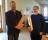 Andreas Svensson och Olof Hällqvist tackades för stora och fina insatser för tidiningen Stämning - de fick varsitt nyckelskåp tillverkat av Snickar-Ola i Rinkaby