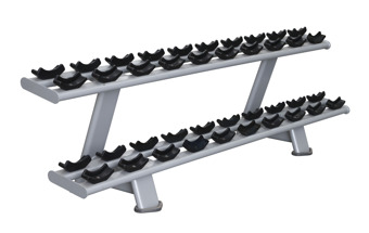 SL34 Two Tier Dumbbell Rack