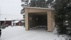 Nybyggnation av garage till husbil.
