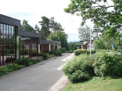 Huvudentré Foto: Nordiska Folkhögskolan