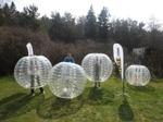 Bumperballs bubbelfotboll