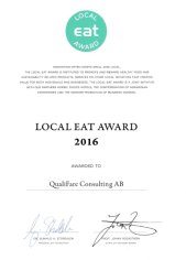 Diplom Local EAT Award 2016