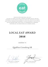 Diplom Local EAT Award 2016