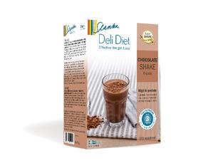 Slanka milkshake: Choklad - Chokladshake 6-pack