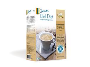 Slanka milkshake: Cappuccino - Cappuccinoshake 6-pack