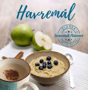 Slankagröt: Havremål - Gröt: Äpple och kanel 6-pack