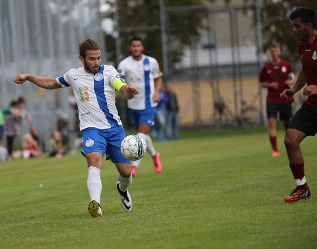 Ett mål och två assist idag för Damir Bislimi . Foto: Senad Honic HONA