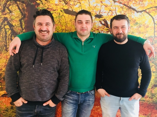 Ernest Duratovic, Nermin Dzafic och Haris Duratovic