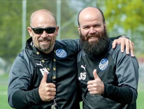 BHSK tränare 2020 Elvis Karic och Dzenan Toplic