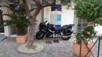 v.25.En annan hotellentré, Le Lavandou, Franska Rivieran.Rolf Nilsson