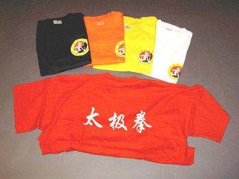 T-shirt wushu - Storlek S