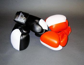Boxhandskar sanda standard - Röd