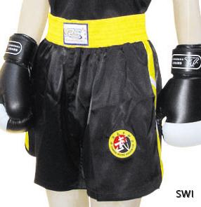 Sanshou-shorts svarta