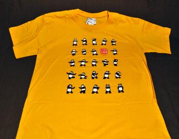 T-shirt panda - Storlek L