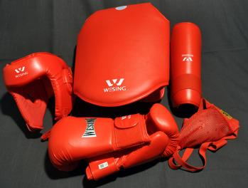 Sanshou sparring set