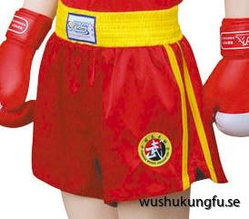 Sanshou-shorts röda