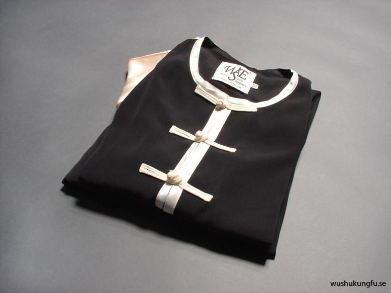 Nanquan-dräkt svart-vit