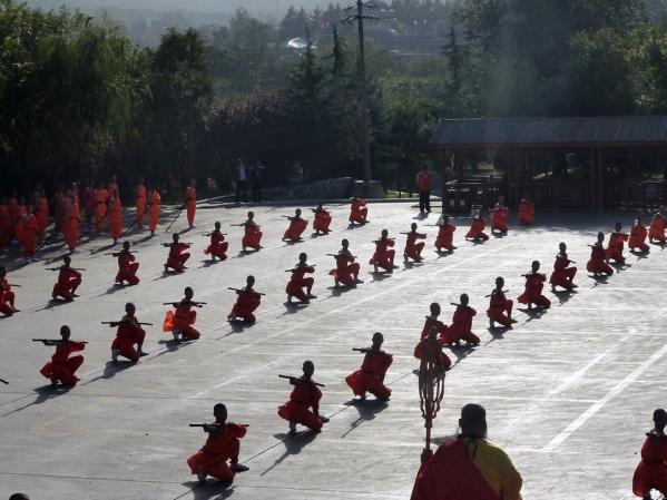 Shaolin kung fu festival 2012
