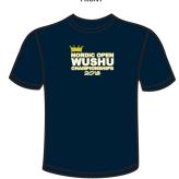 t-shirt Nordic Open WushuChampionship