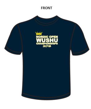 t-shirt Nordic Open WushuChampionship - Small