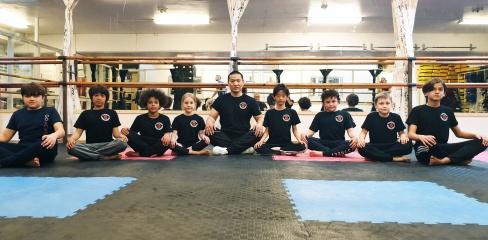 Barngrupp 2 med gästinstruktör Xing från Kina, vt 19