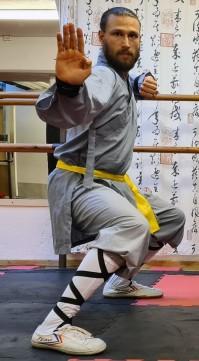 Widare Hörberg, instruktör Shaolin