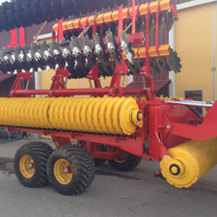 Lantbruksmaskin som vi tillverkat i vår legotillverkning.