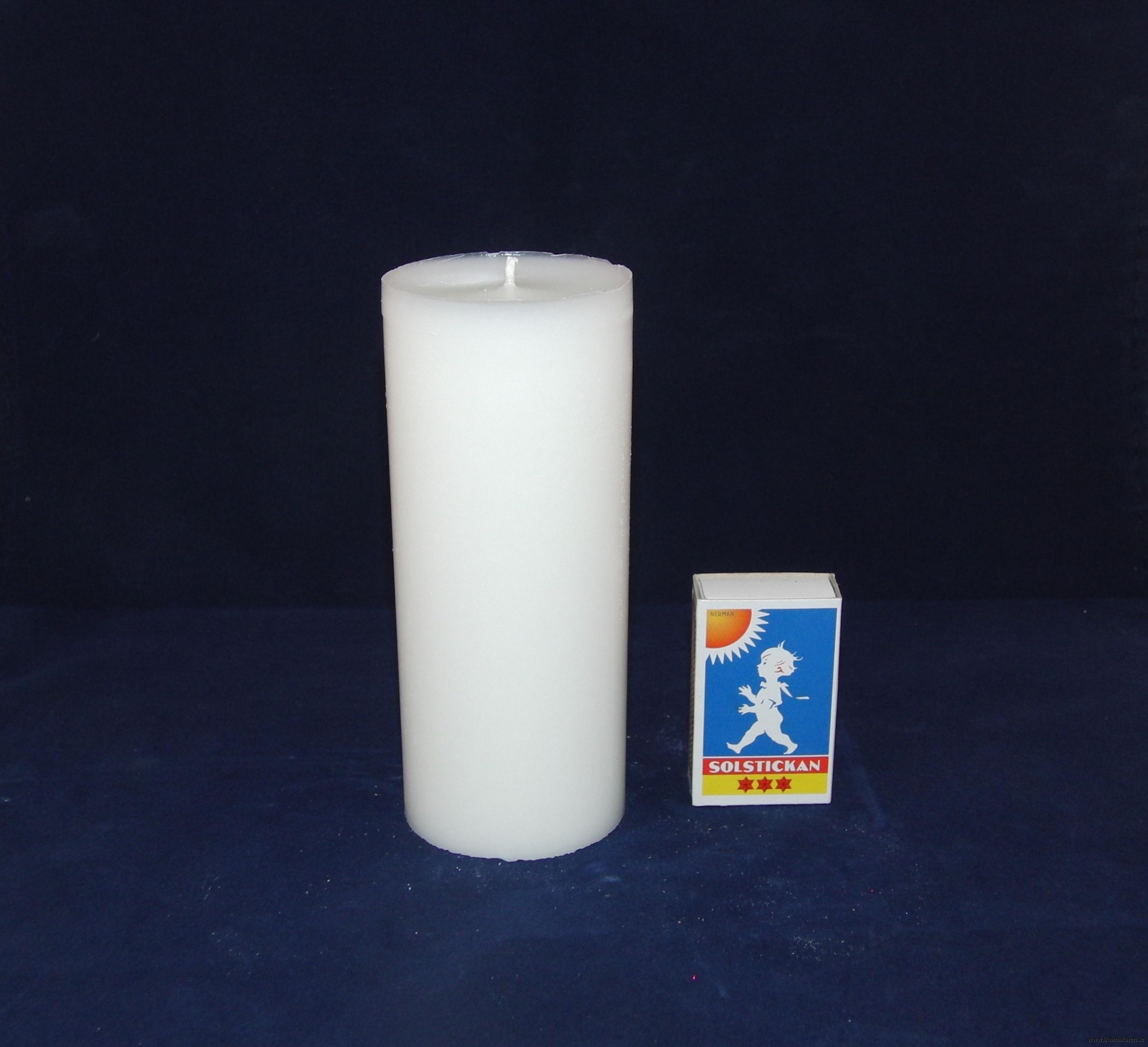 Blockljus 6x14 cm