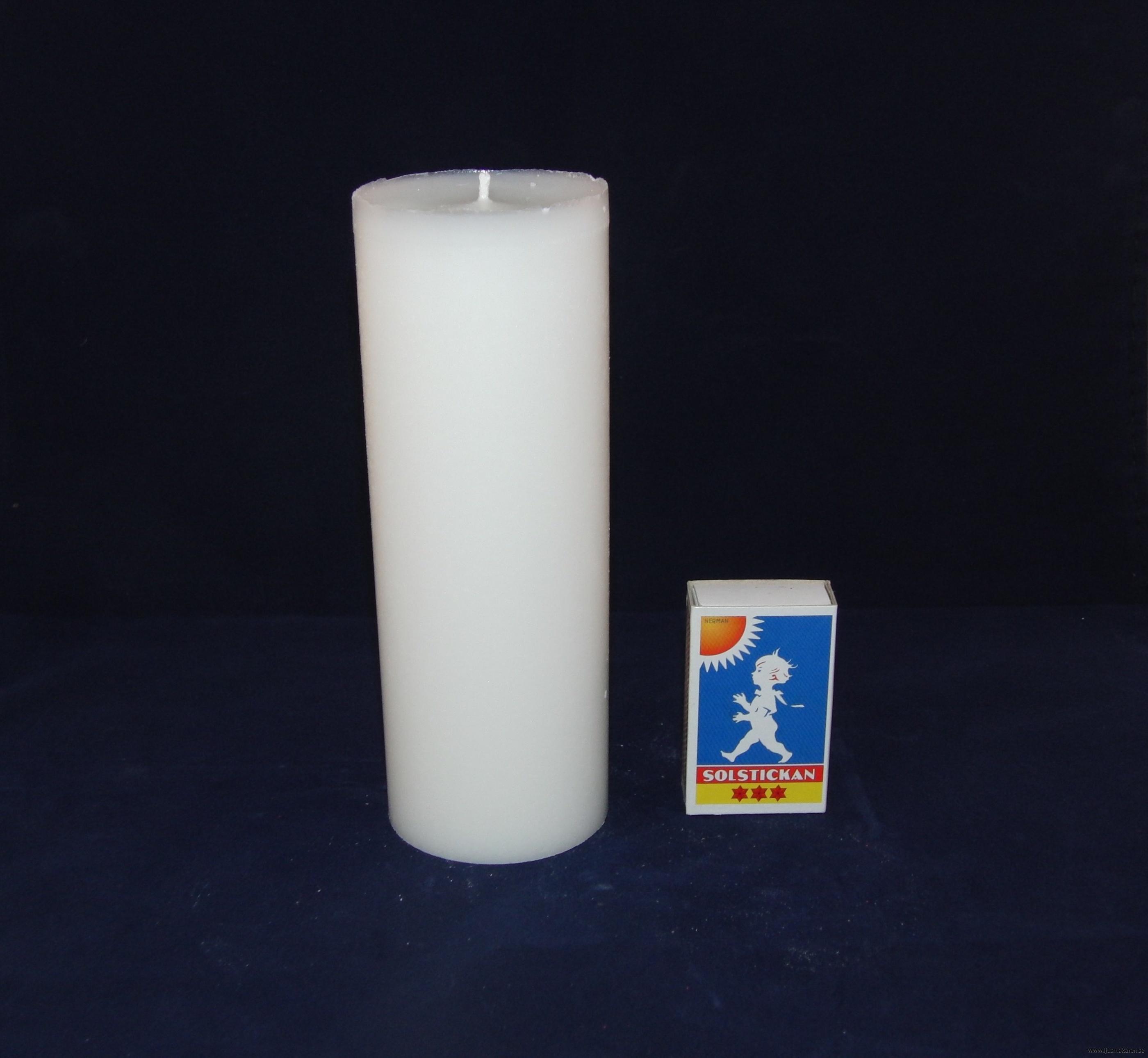 Blockljus 6x16 cm