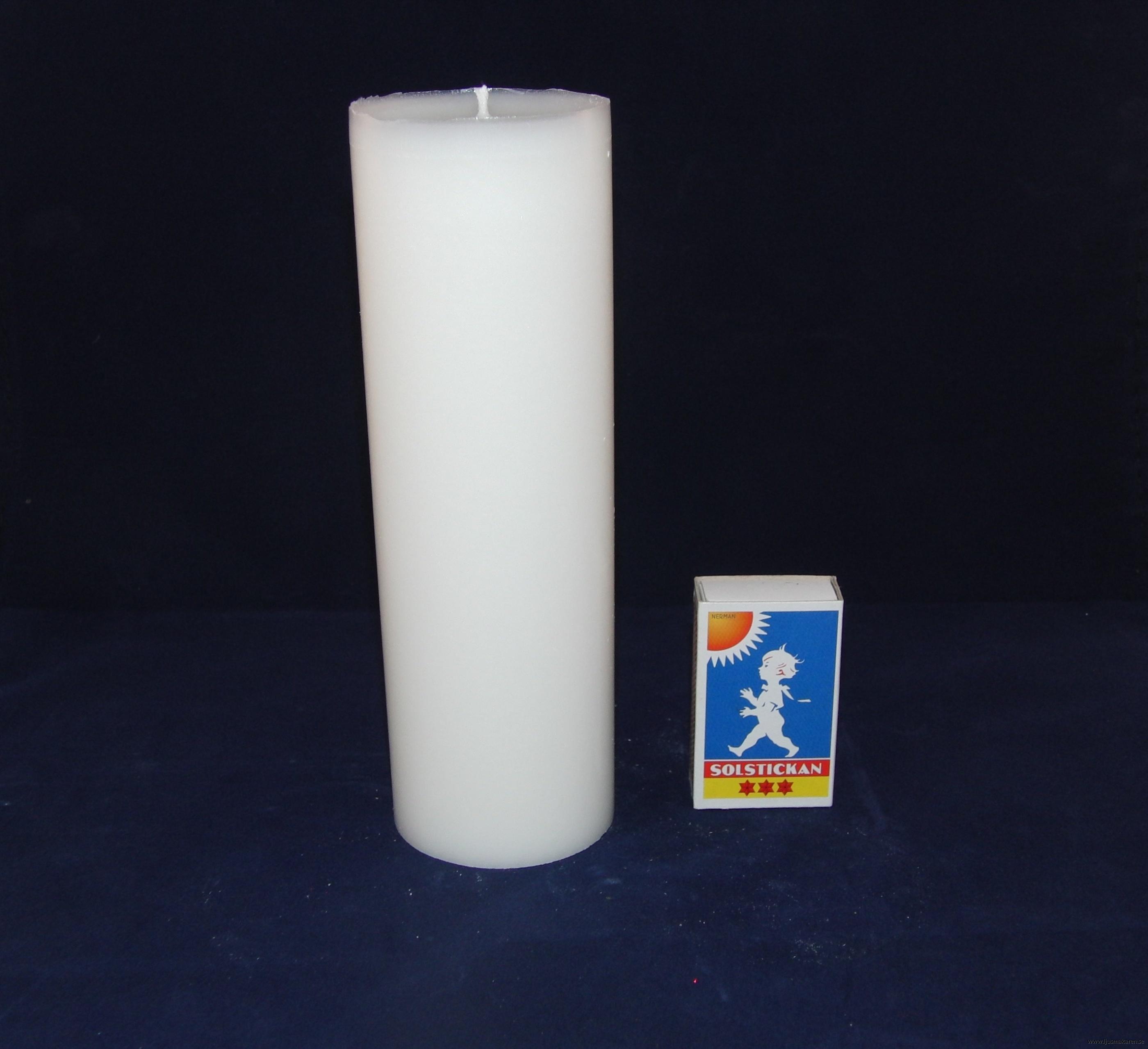 Blockljus 6x18 cm