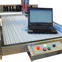 CNC fräsmaskin Milltool MT04 6